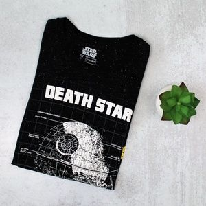 "Star Wars ""Death Star"" Men's Charcoal T-Shirt"